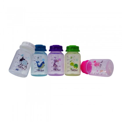 Milk Planet Assorted Colours Breastmilk Storage Bottles